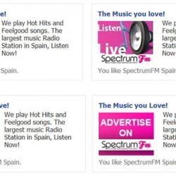 Spectrum FM Ads